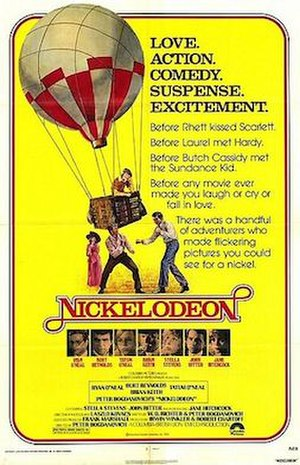Nickelodeon (film) - Original Theatrical poster