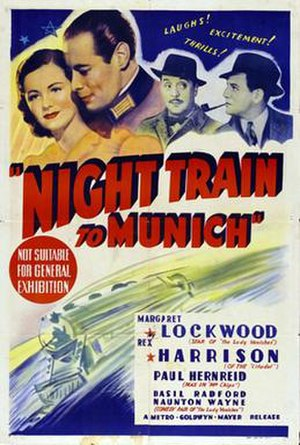 Night Train to Munich - Image: Night Train to Munich Poster