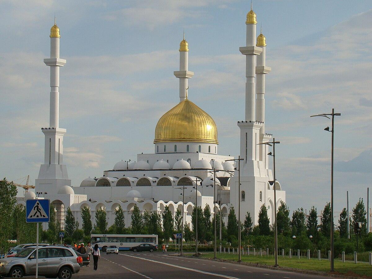 Mosques Wikipedia: Nur-Astana Mosque