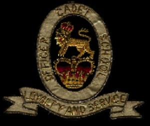 Officer Cadet School, Portsea - The OCS Portsea Badge
