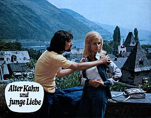 Old Barge, Young Love (1973 film) - Barbara Nielsen in a scene from the film