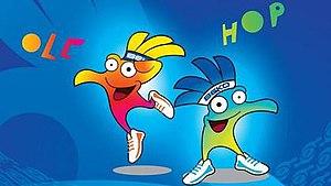 2014 FIBA Basketball World Cup - Olé and Hop (official mascots)