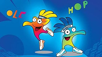 2014 FIBA Basketball World Cup - Olé and Hop (official mascots)