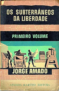 <i>The Bowels of Liberty</i> novel by Jorge Amado