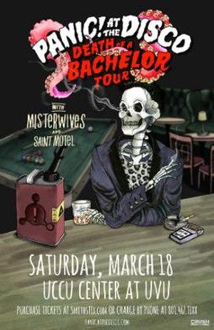 Death of a Bachelor Tour - Image: PATD 2017Tour Poster
