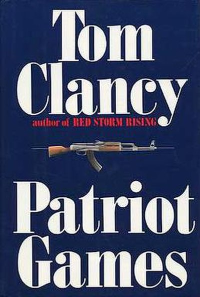 Picture of a book: Patriot Games