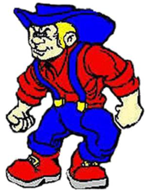 Plainfield High School (Plainfield, Indiana) - Image: Plainfield High School Quaker Mascot