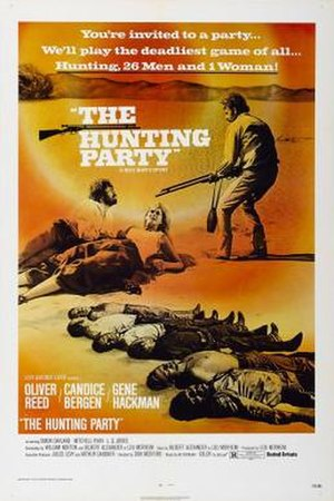 The Hunting Party (1971 film) - Original film poster