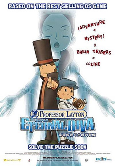 Picture of a movie: Professor Layton And The Eternal Diva