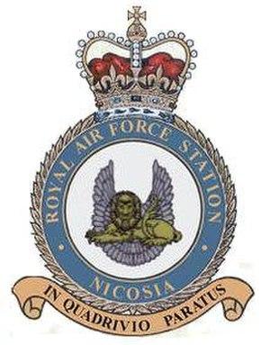 """RAF Nicosia - """"In Quadrivio Paratus"""""""