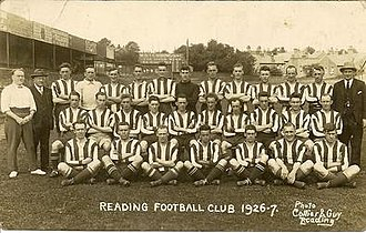 Reading F.C. - The team from the 1926–27 season
