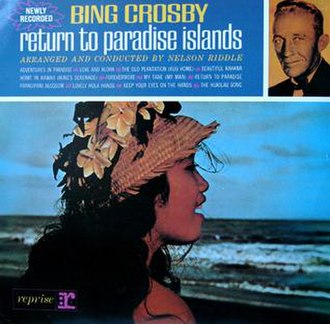 Return to Paradise Islands - Image: Return to Paradise Islands (album cover)