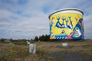 Reykjanesbær - Old Water Reserve Tank