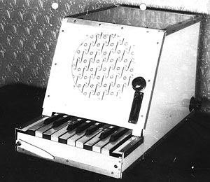 Rhythmicon - The third Rhythmicon constructed by Theremin