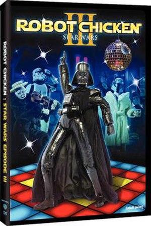 Robot Chicken: Star Wars Episode III - DVD cover
