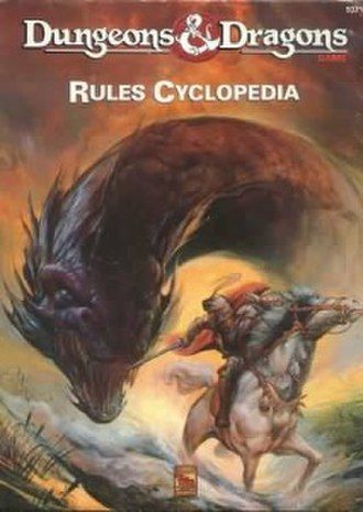 Dungeons & Dragons Rules Cyclopedia - Cover of the book