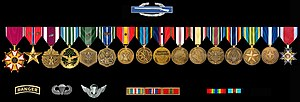 Steve Russell (politician) - Awards, Decorations and Badges of Steve Russell