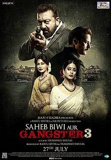 <i>Saheb, Biwi Aur Gangster 3</i>