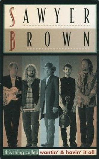 (This Thing Called) Wantin' and Havin' It All - Image: Sawyer Brown This Thing Called single