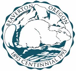 Official seal of Beaverton