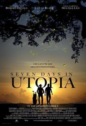 Seven Days in Utopia - Theatrical release poster