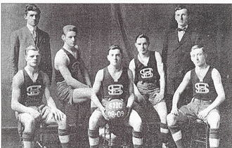 Seton Hall Pirates men's basketball - The 1908–09 Seton Hall basketball team recorded the school's first winning record in its second season of play