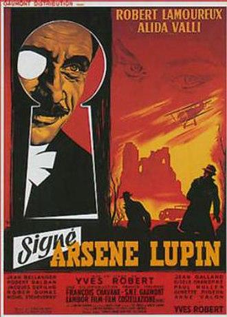 Signé Arsène Lupin - Image: Signé Arsène Lupin