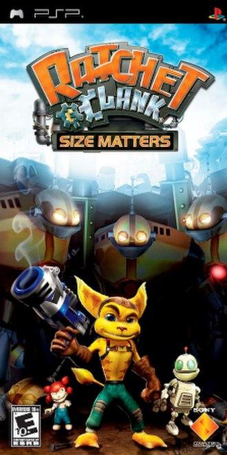Ratchet & Clank: Size Matters - Image: Size Matters