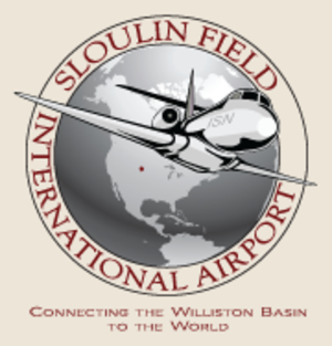 Sloulin Field International Airport - Image: Sloulin Field International Airport logo
