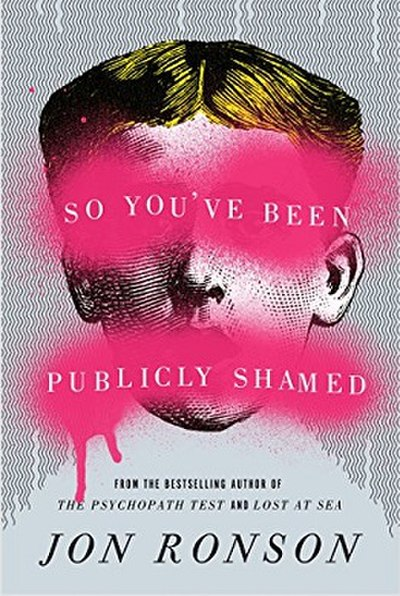 Picture of a book: So You've Been Publicly Shamed