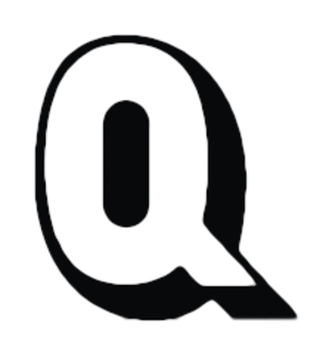 Q... (TV series) - Logo of Q..., c. 1969