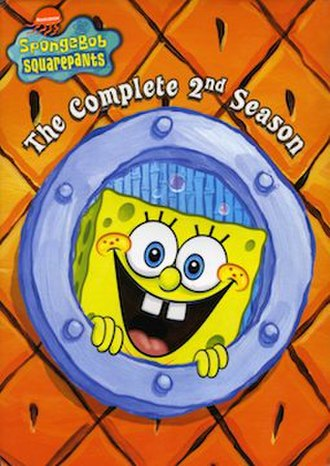 SpongeBob SquarePants (season 2) - DVD cover