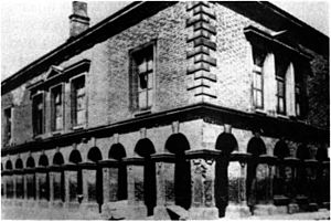 St Helens, Merseyside -  A photograph believed to be of the improvement commissioners offices built in 1852