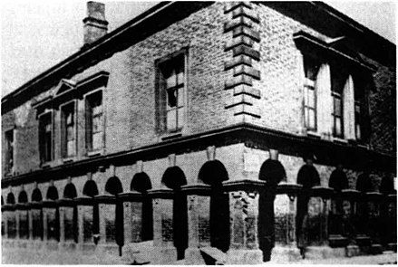 A photograph believed to be of the improvement commissioners offices built in 1852