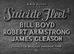 Suicide Fleet - Screen shot of title card for the film