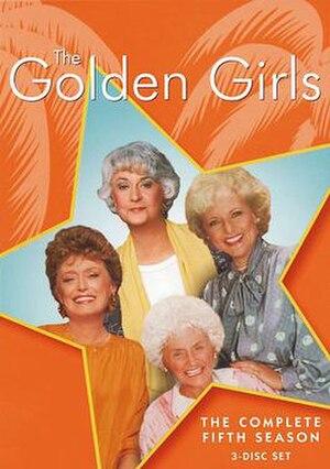 The Golden Girls (season 5) - Season 5 DVD Cover