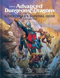 <i>Dungeoneers Survival Guide</i> book by Douglas Niles