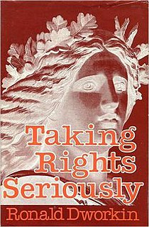 <i>Taking Rights Seriously</i> book by Ronald Dworkin