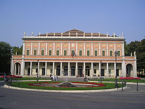 Teatro Municipale (Reggio Emilia) - Facade of the Municipal Theatre of Reggio Emilia