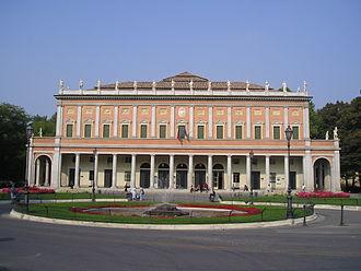 Teatro Municipale (Reggio Emilia) - Facade of the Municipal Theatre of Reggio Emilia
