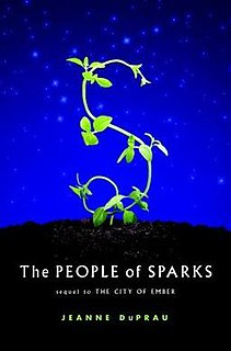 <i>The People of Sparks</i> book by Jeanne DuPrau