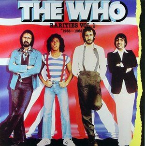 Rarities Volume I & Volume II - Image: The Who Rarities 1