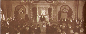 Constitution of Latvia - Inauguration of the Constitutional Assembly of Latvia, 1 May 1920
