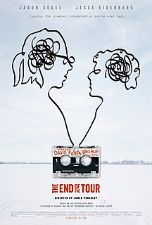 <i>The End of the Tour</i> 2015 film by James Ponsoldt