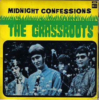 Midnight Confessions - Image: The Grass Roots Midnight Confessions single