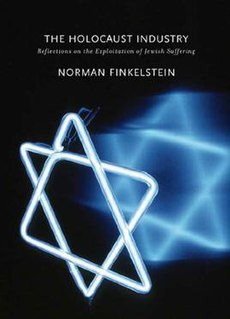 <i>The Holocaust Industry</i> book by Norman Finkelstein
