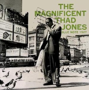 The Magnificent Thad Jones - Image: The Magnificent Thad Jones