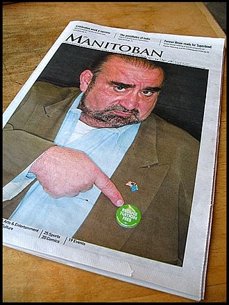 The Manitoban - Late January 2007 edition of The Manitoban