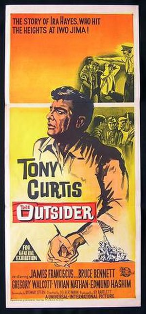The Outsider (1961 film) - Film poster
