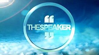 The Speaker - Image: The Speaker Title